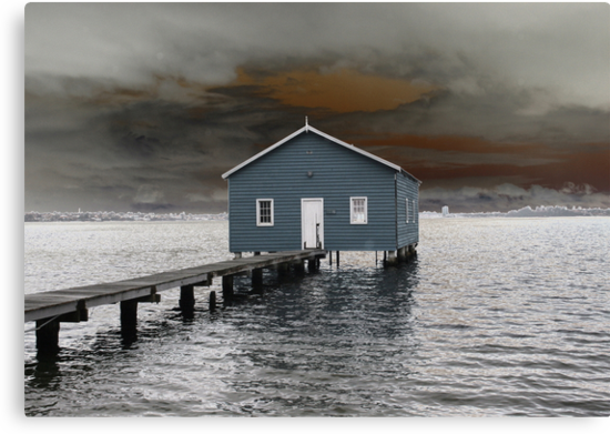 Crawley Boatshed by Michelle Cocking
