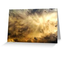 Raging Storm Cell Greeting Card