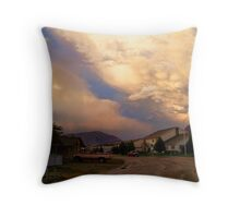 Two Storms Throw Pillow