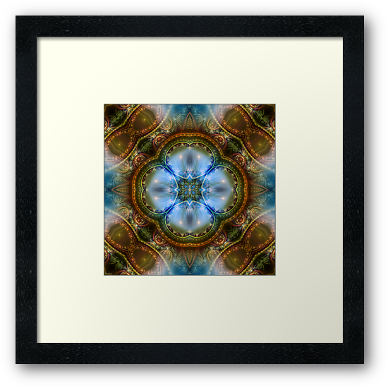 Manifestation Mandala by Craig Hitchens - Spiritual Digital Art