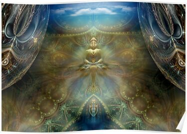 Celestial Abundance by Craig Hitchens - Spiritual Digital Art