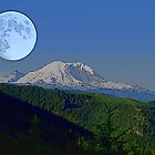 Moon Over Rainier by Tori Snow