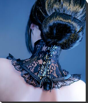 Neck Corset by aka-photography