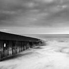 wave breaker by Bartosz Chajek