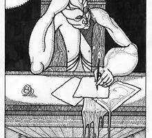 drawing by Ronan Crowley