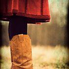 Vintage Cowboy Boots Autumn Image by Jennifer Westmoreland