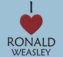 I love Ronald Weasley Kids Clothes