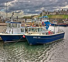 Seahouses Harbour by Trevor Kersley