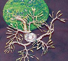 Bird Nest No.5 - Wall Art Sculpture by Sal Villano