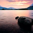 Derwentwater Sunrise, Cumbria. UK by David Lewins LRPS