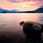 Derwentwater Sunrise, Cumbria. UK by David Lewins