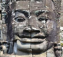 Angkor face by Federico Del Monte