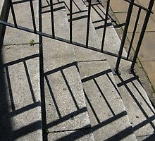 STEPS AND RAILINGS by gothgirl