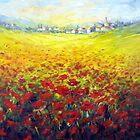 Tuscan field by Ivana Pinaffo