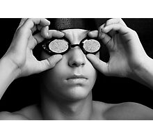Swimmer in Thought Photographic Print