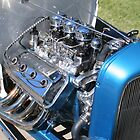 Nostalgia Motor in Blue by RoySorenson