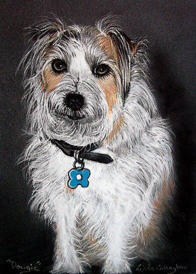 Dougie - Pet Portrait by © Linda Callaghan