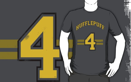 Hufflepuff Away Team Jersey  by Benjamin Whealing