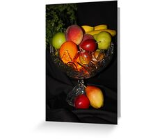 Fruit Bowl (Please View Full Size) Greeting Card