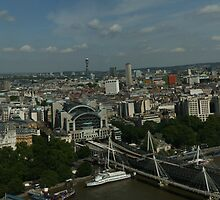 London England Panorama by Allen Lucas