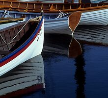 Resting Dinghies by Timothy M. Robison