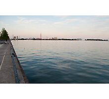 Looking at the Portlands from Sugar Beach Photographic Print