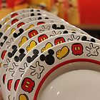 Mickey Mouse Dinner Plates by Rechenmacher