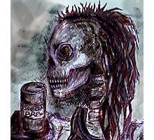 Dredd+BrewCrew+Skull Photographic Print