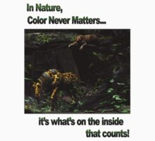 In Nature, Color Never Matters Kids Clothes