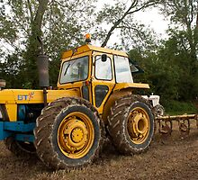 Roadless 120 tractor - BT livery by Jon Lees