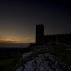Brentor Church - Night by Neal Petts