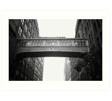 Chelsea Market Skybridge - New York City Art Print