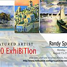 Randy Sprout, Solo Exhibition Banner by solo-exhibition