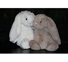 Bunny Snuggle Photographic Print