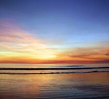 dry season sunset cable beach broome by nicole makarenco