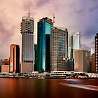 Brisbane River City by Kym Howard
