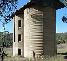 Double silos, Scheyville Camp by DashTravels