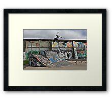 Tuck Air At Royal Framed Print