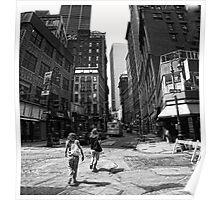 Lower Manhattan Serenade Poster