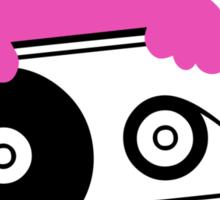 Cassette Kitten Sticker Sticker