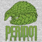 PERIDOT PANGOLIN by DAVID ROBERT WOOTEN