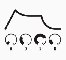 ADSR Envelope (black graphic) by skyre