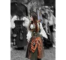 Damsel of the  Renaissance Faire Photographic Print