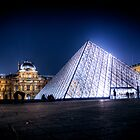 The Louvre by David Preston