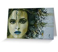 Helena Bonham Carter  Greeting Card