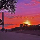 Sunset on the Mall - Washington, DC by michael6076