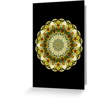 To the Center They Fly - PostCardArt Greeting Card