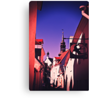 Old Town, Toompea. Canvas Print