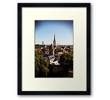 View From Toompea. Framed Print