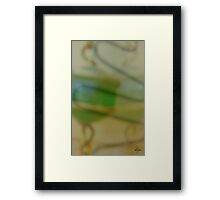 A Softer Shade Of Green Framed Print
